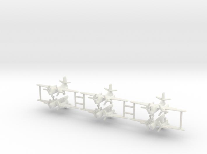 1/350 C-1 Trader (x6) 3d printed