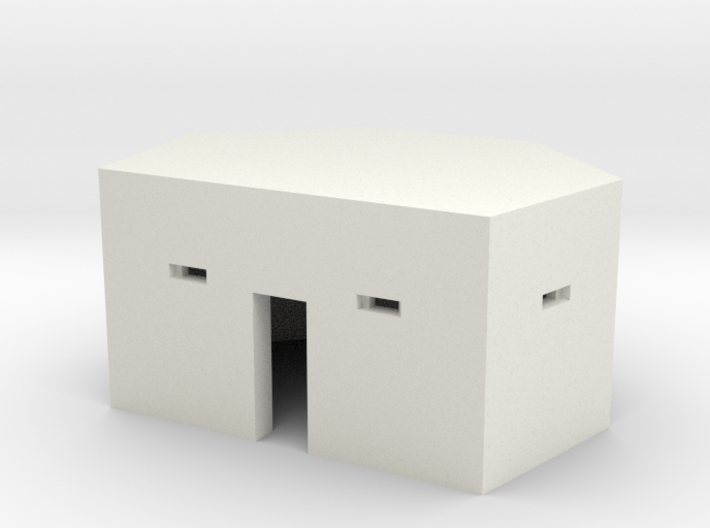 Type 24 Pillbox 2mm scale 3d printed