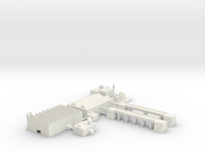 """1"""" Buildings Set 2 - Industrial 3d printed"""