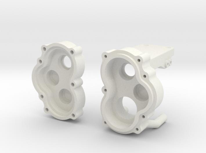 Vorsatzgetriebe Losi MRC Achse 1.0 3d printed