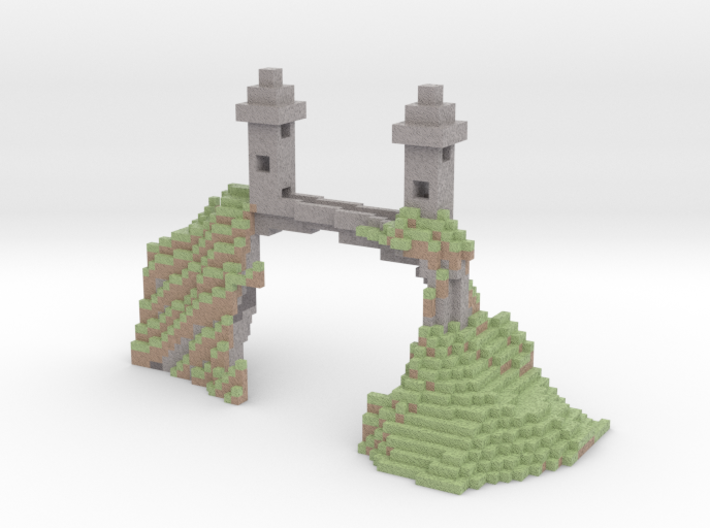 cliff bridge 3d printed