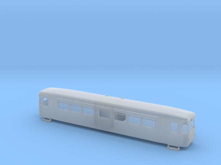VT 187 011 der HSB Spur H0m (1:87) 3d printed