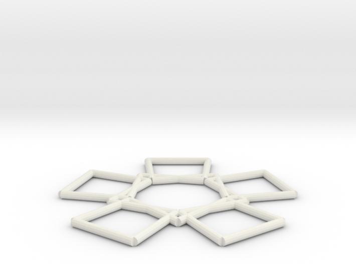pitagoricshield 3d printed