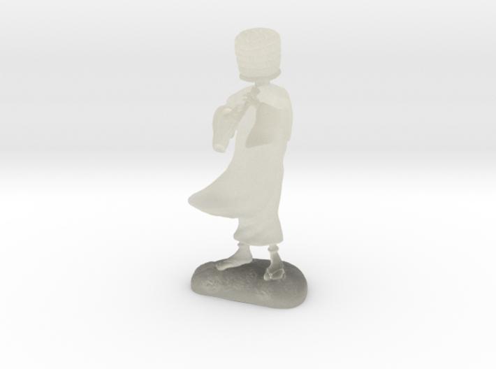 Komuso monk 3d printed