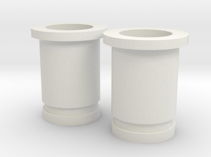 Circular Plug Hollow - 2 Gauge 3d printed