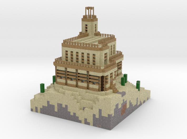 Sand Castle test 3d printed