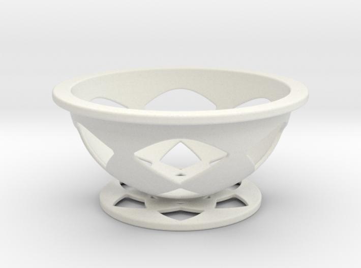 Font Hill Crop Circle Basket Flat Bottom 3d printed