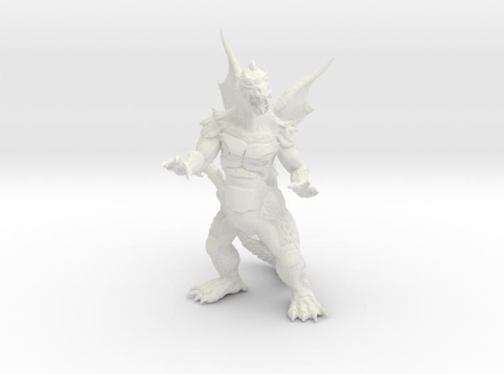"Pyrosaurus - Solid core 3"" 3d printed"