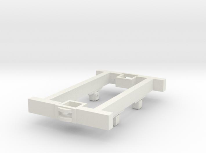O9 4w Underframe (medium) 3d printed