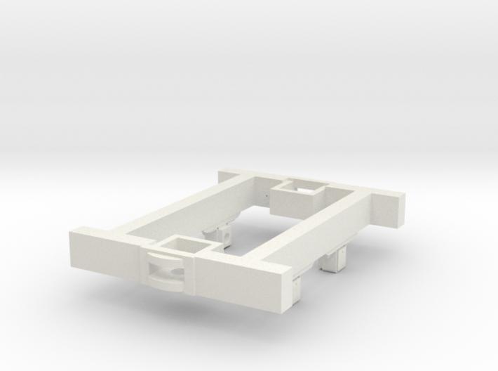 O9 4w Underframe (short) 3d printed