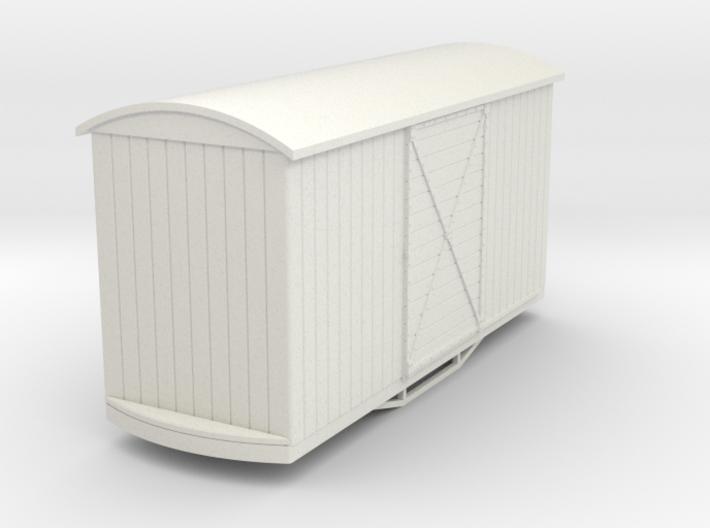 55n9 bogie box car round roof 3d printed
