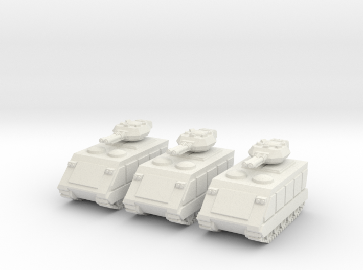 15mm Scorpion AFV w/ Beam Cannons (x3) 3d printed