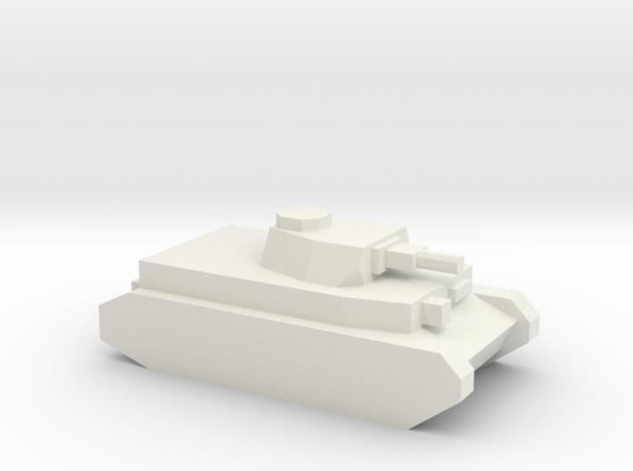 Panzer IV (75mm L/24 Gun) 3d printed