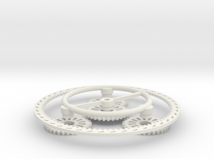 Planetary Gear Set 3d printed