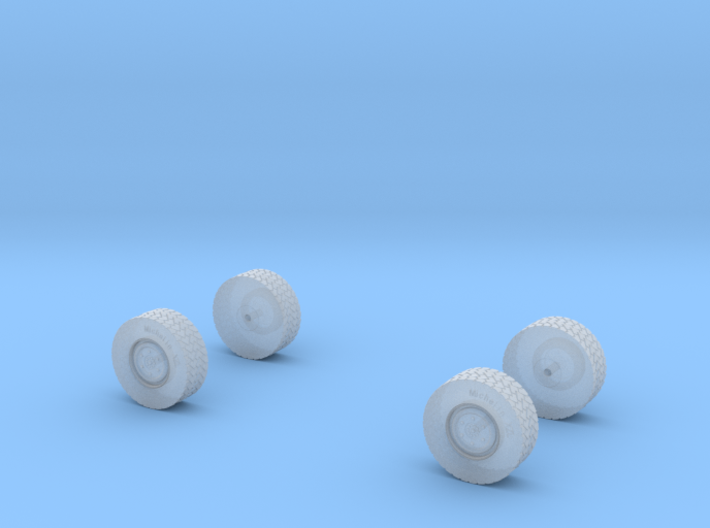 Reifenset für U5000 normale Felge 3d printed