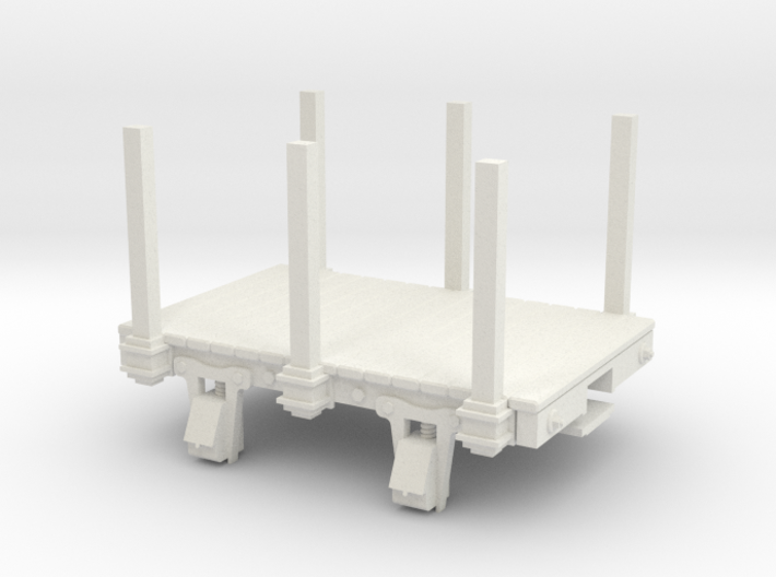 55n3 8ft 4w flat with stakes 3d printed