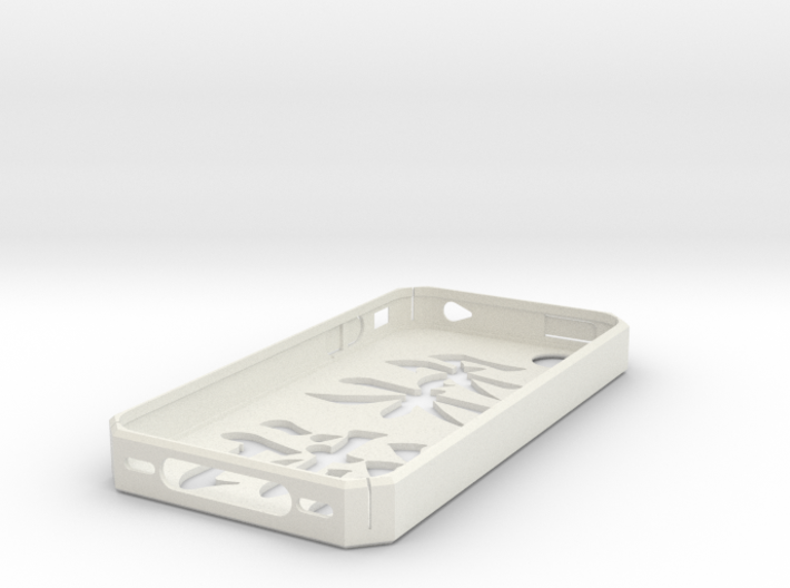 Jiu Jitsu Symbol iPhone 4/4S case (GSM/AT&T) 3d printed