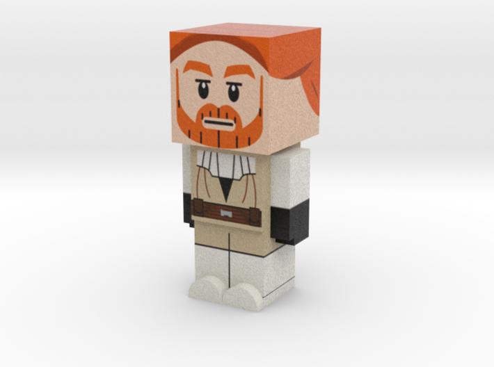 Obi Wan Kenobi (Star Wars) 3d printed