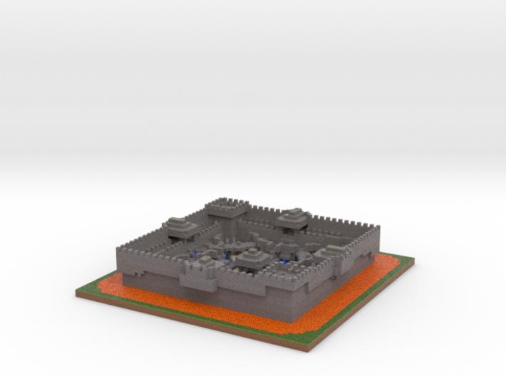 Galidin Square Arena Simple 3d printed