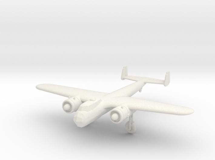 1/200 Dornier Do-17Z 3d printed