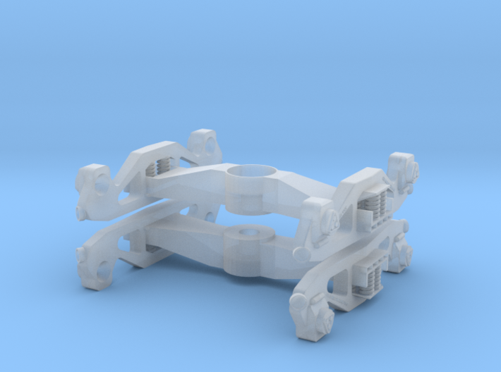 Western Pole Pocket Truck with Roller Bearing 3d printed