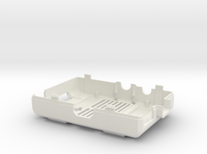 Raspberry Pi CASE 1.0 - BOTTOM 3d printed