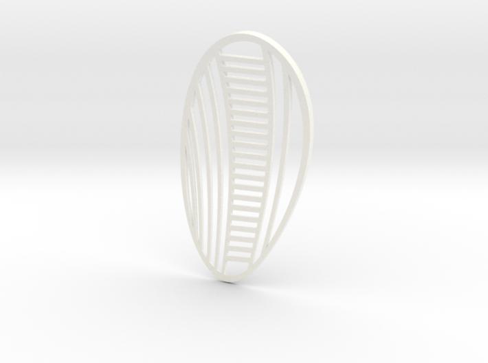 Second Skin ornamental 3d printed