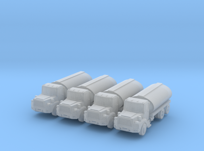 Mack Tank Truck Set - Zscale 3d printed