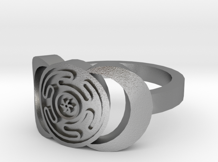 Hecate ring sizes 10 3d printed