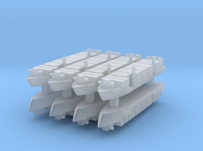 Singapore Tech. 400TEU Container Ship 1:6000 3d printed
