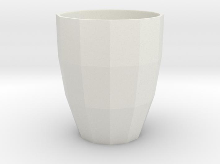 Low Poly Mug 3d printed