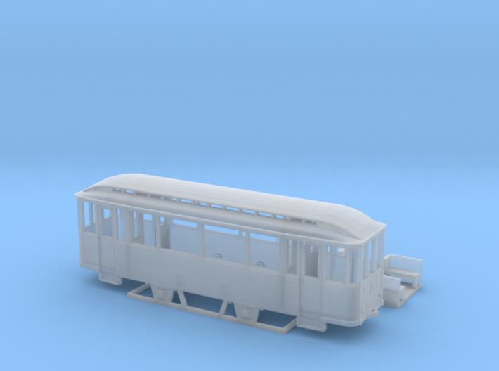 Tram Leipzig Typ 56 Pullmanbeiwagen (1:160) N 3d printed
