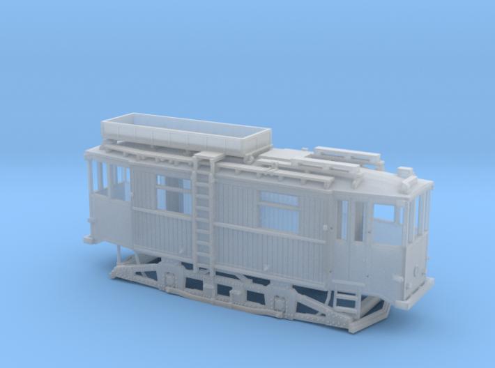 Tram Leipzig ATW 5060 Turmwagen (1:160) N 3d printed