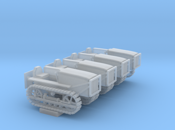 Caterpillar D4 Set - Nscale 3d printed