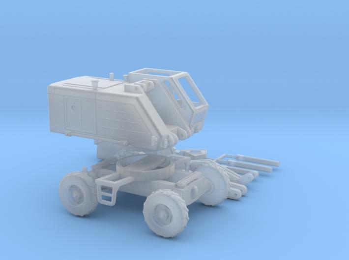 T 174 Bagger mit Greifer Spur N (1:160) 3d printed