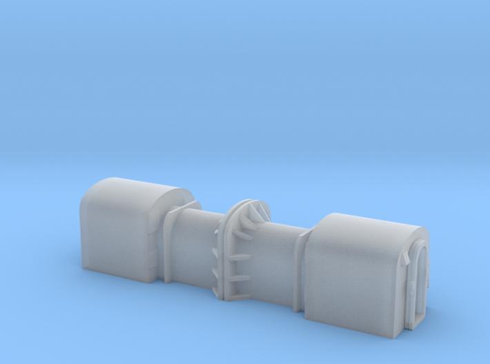 N Gauge SGT Optrical Car body 3d printed
