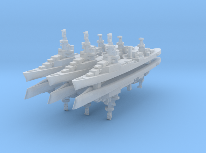 Bywater Albany 1:4800 x6 3d printed