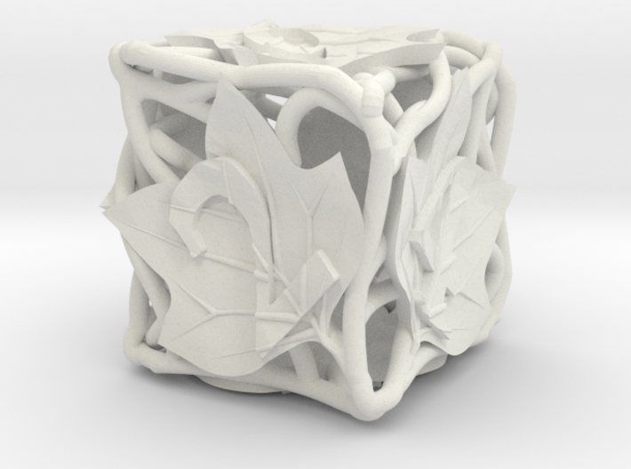 Botanical d6 (Tulip Tree) 3d printed