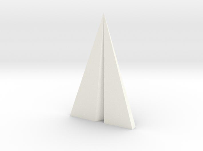 Big Paper plane pendant 3d printed
