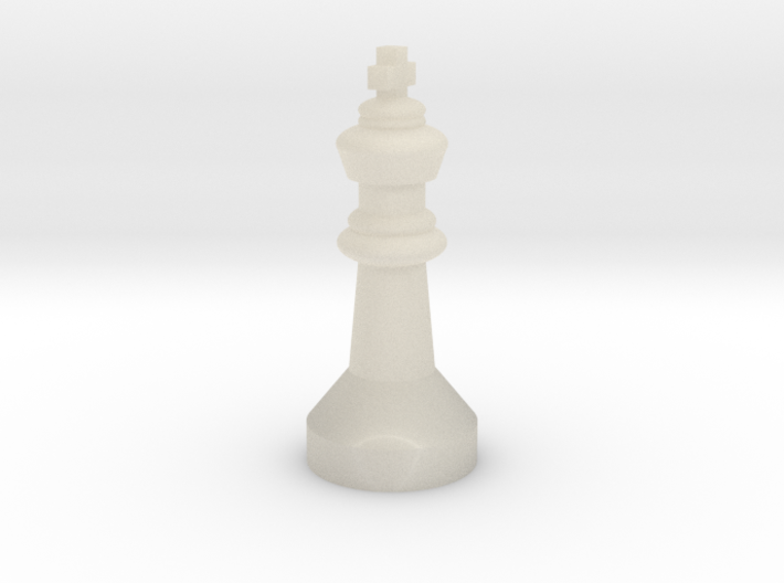 Chess figure King 3d printed