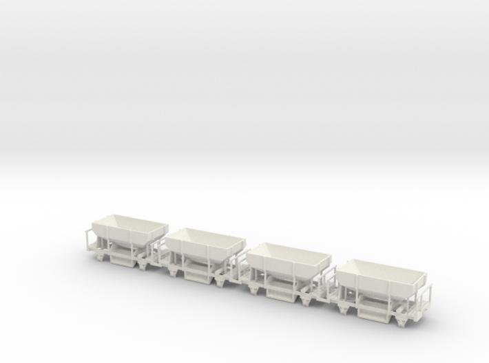 OEG Schotterwagen (4stck.) 3d printed