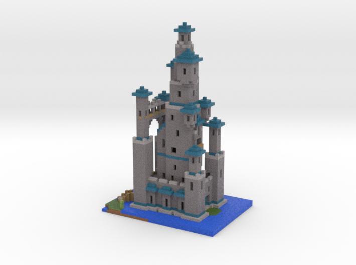Toadstool Tower 3d printed