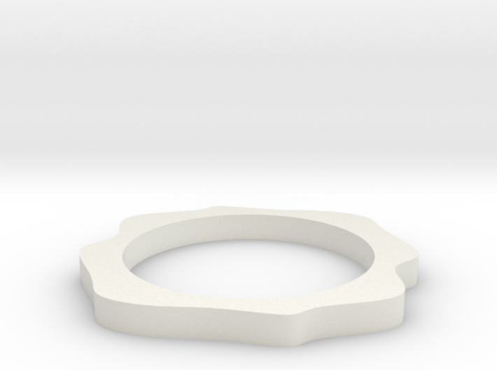 Sinus ring 3d printed