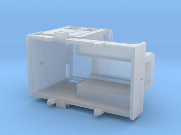 48DS TT (1:120) 3d printed