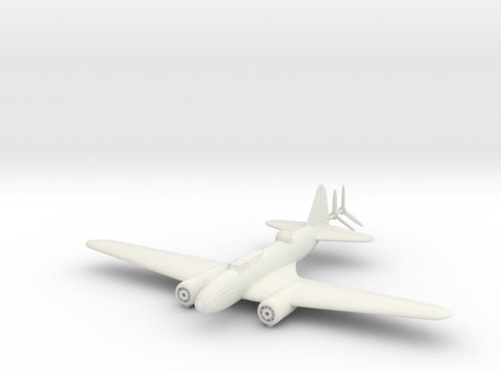 1/144 Ilyushin IL-4 Soviet Bomber 3d printed
