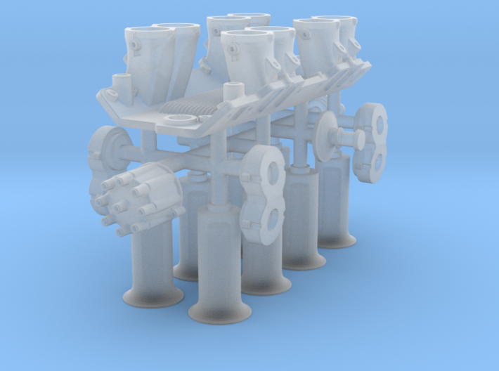 1/16 BBC Hilborn Injection System 3d printed