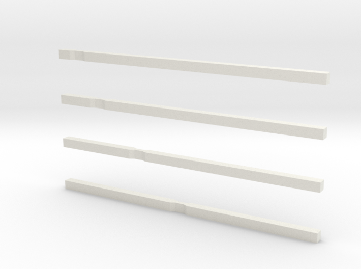 notched bars 3d printed