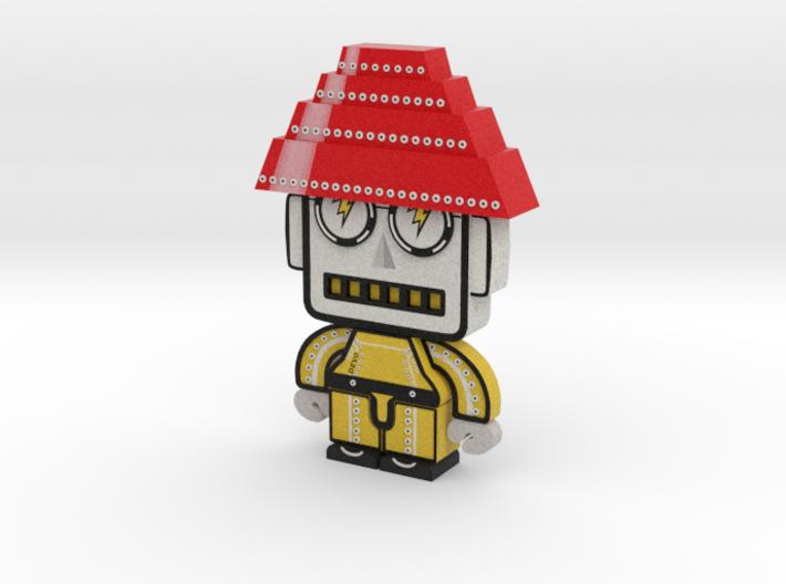 DevoBot Series 1 Yellow Bio Suit + Glasses: Mark M 3d printed