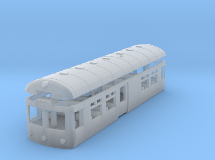 Wickham Railbus with Interior (N) 3d printed