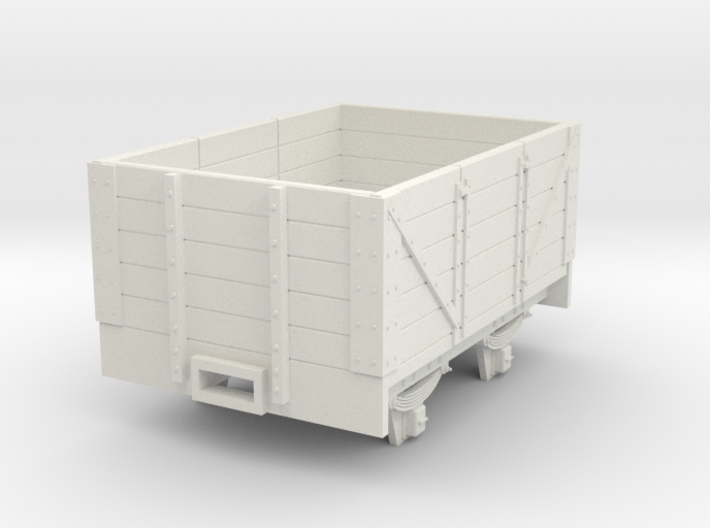 5.5n3 8ft 5 plank coal wagon 3d printed